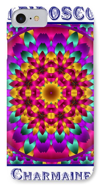 IPhone Case featuring the digital art Kaleidoscope 3 by Charmaine Zoe