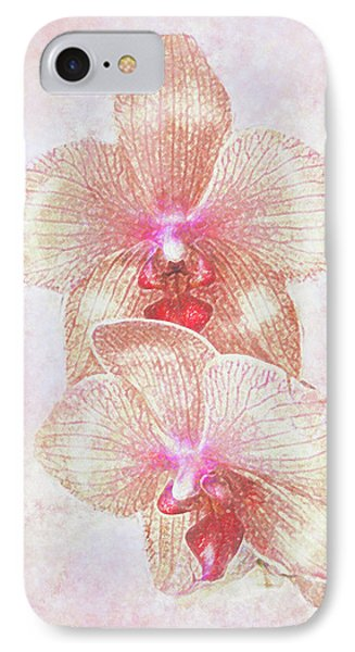 IPhone Case featuring the digital art Kaleidoscope Orchid  by Jane Schnetlage
