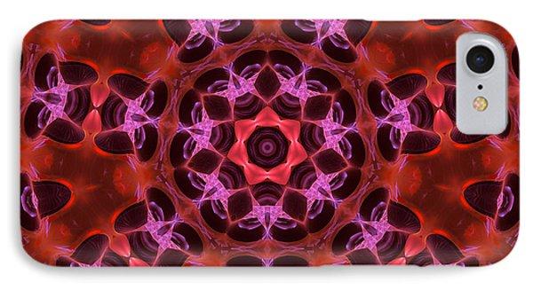 Kaleidoscope With Seven Petals IPhone Case