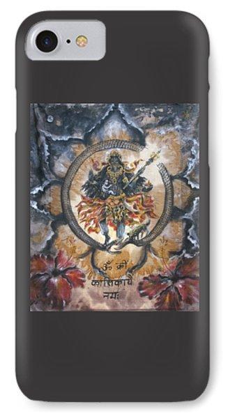 Kali And Ouroboros  IPhone Case