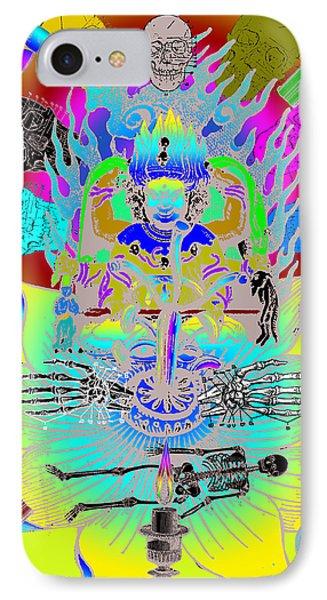 Kali Yuga IPhone Case by Eric Edelman