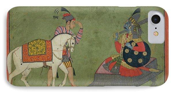 Kalki Avatar The Future Incarnation Of Vishnu IPhone Case by Ca 17001710