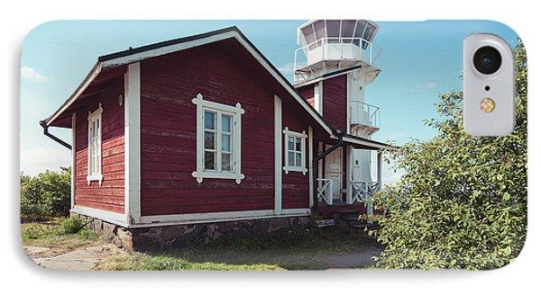 IPhone Case featuring the photograph Kallo Lighthouse by Ari Salmela