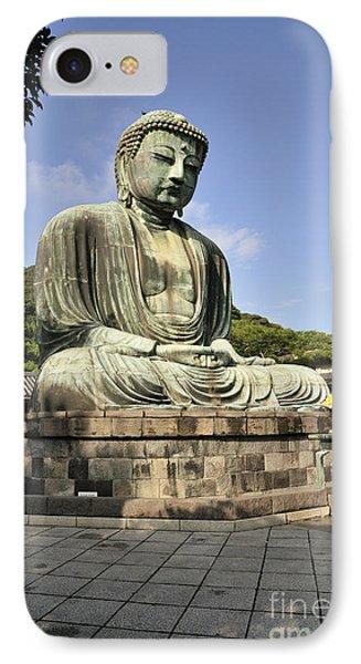 Kamakura Buddha Phone Case by Andy Smy