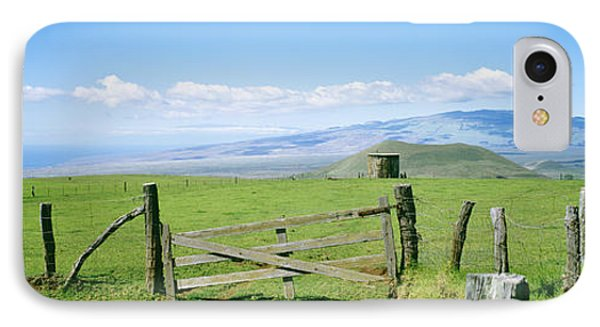 Kamuela Pasture Phone Case by David Cornwell/First Light Pictures, Inc - Printscapes