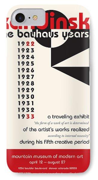 IPhone Case featuring the digital art Kandinsky 1 by Chuck Mountain