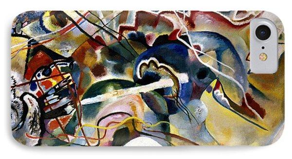 Kandinsky: White, 1913 Phone Case by Granger
