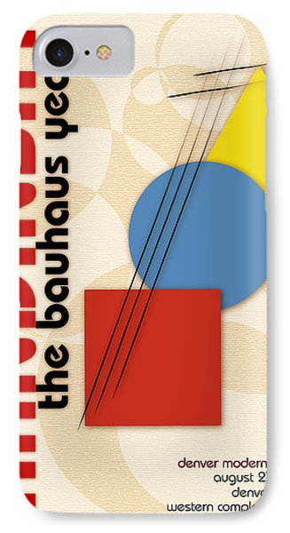 IPhone Case featuring the digital art Kandinsky 3 by Chuck Mountain