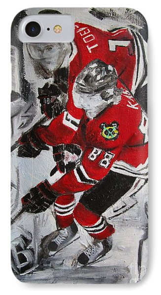 Kane Toews 3 Cups IPhone Case by John Sabey Jr
