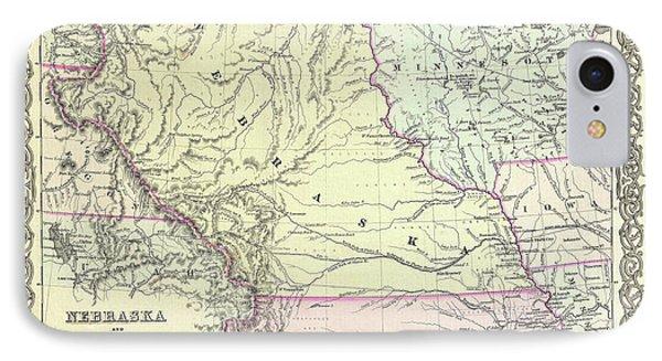 Kansas And Nebraska 1855 IPhone Case