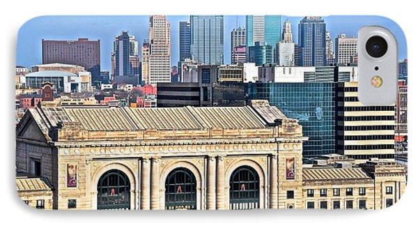 Kansas City Behind Union Station IPhone Case