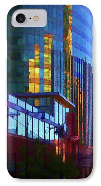 Kansas City High Rise IPhone Case by Terry Davis