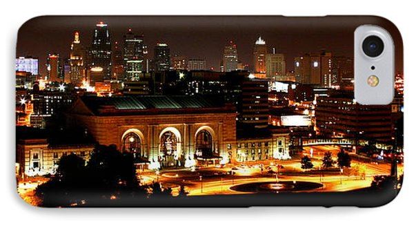 IPhone Case featuring the photograph Kansas City Lights by David Dunham