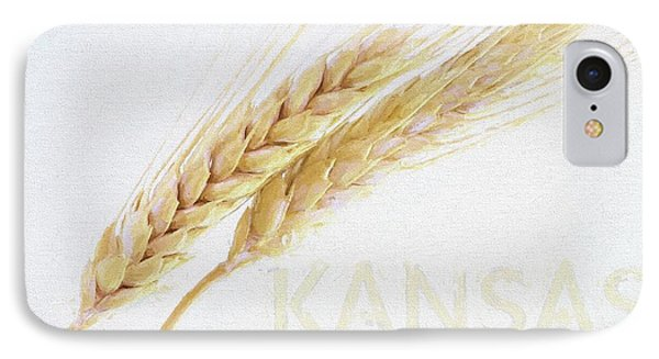IPhone Case featuring the digital art Kansas by JC Findley