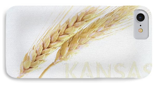 IPhone 7 Case featuring the digital art Kansas by JC Findley
