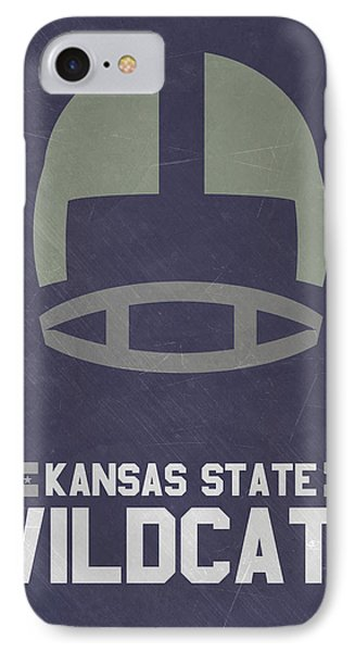 Kansas State Wildcats Vintage Football Art IPhone Case