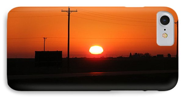 Kansas Sunrise IPhone Case by Adam Cornelison