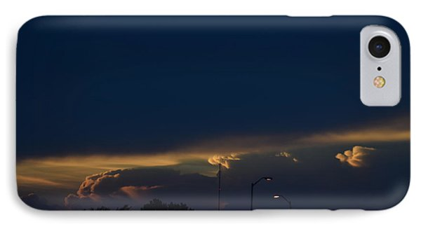 Kansas Sunset Angel IPhone Case