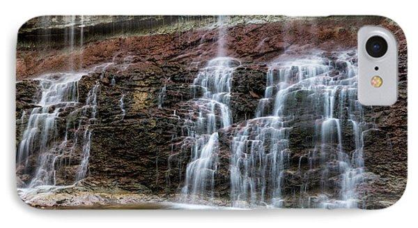 Kansas Waterfall 3 IPhone Case by Jay Stockhaus