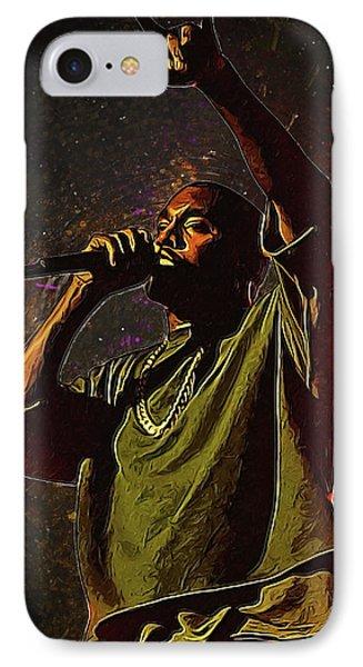 Kanye West IPhone Case by Semih Yurdabak