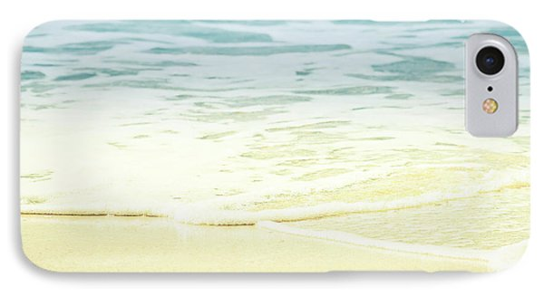IPhone Case featuring the photograph Kapalua Beach Dream Colours Sparkling Golden Sand Seafoam Maui by Sharon Mau