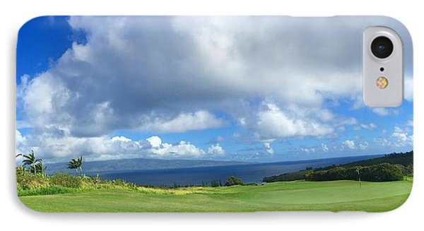 Kapalua Golf In Maui IPhone Case by Stacia Blase