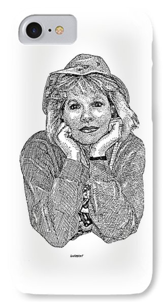 Karen Marie IPhone Case by Dave Luebbert