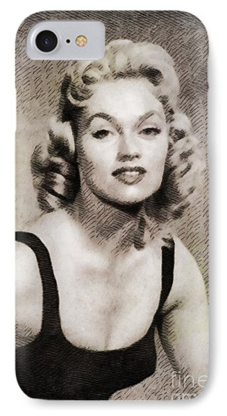 Karen Steele, Vintage Actress IPhone Case