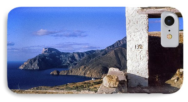 IPhone Case featuring the photograph Karpathos Island Greece by Silvia Ganora