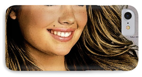 Jessica Alba iPhone 7 Case - Kate Upton by Thomas Pollart