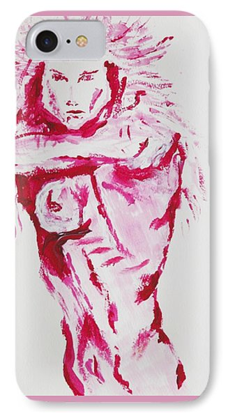 Kates Kindness IPhone Case by Contemporary Michael Angelo