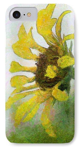 Kate's Sunflower Phone Case by Jeff Kolker