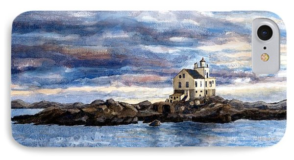 Katland Lighthouse Phone Case by Janet King