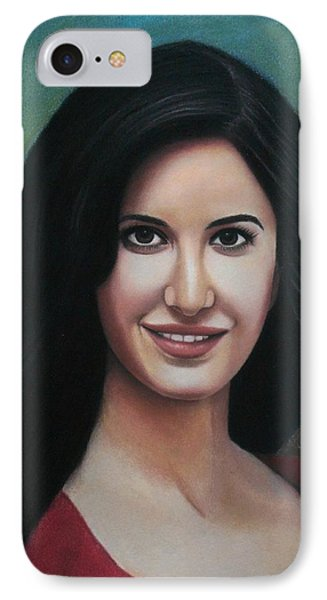 Katrina - The Beauty Of India IPhone Case
