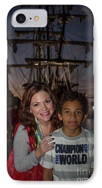IPhone Case featuring the photograph Katy And Baby James Art by Reid Callaway