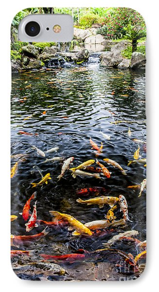 Kauai Koi Pond IPhone Case by Darcy Michaelchuk