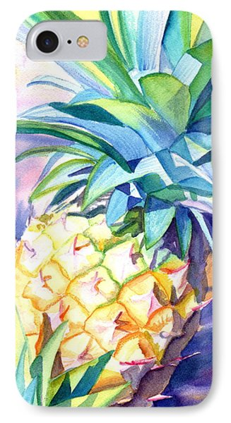Kauai Pineapple 3 IPhone Case by Marionette Taboniar