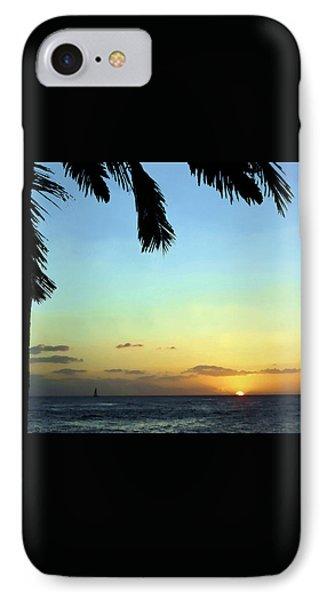 Kauai Sunset Phone Case by Ellen Henneke