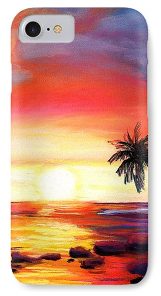 Kauai West Side Sunset IPhone Case by Marionette Taboniar