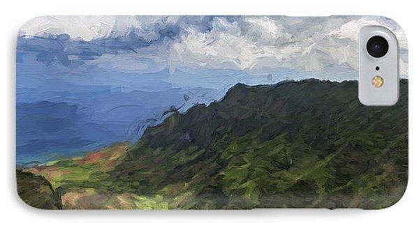 Kauaii Blue II IPhone Case
