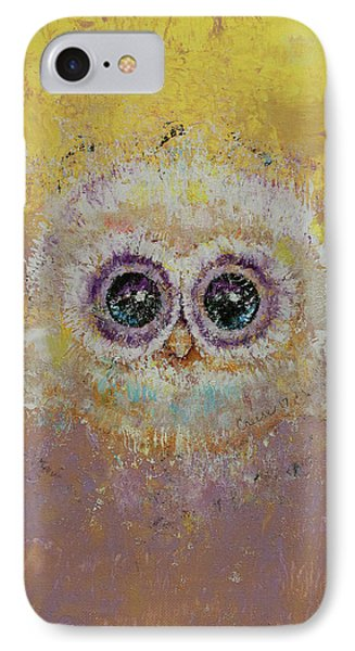Hoot IPhone Case by Michael Creese