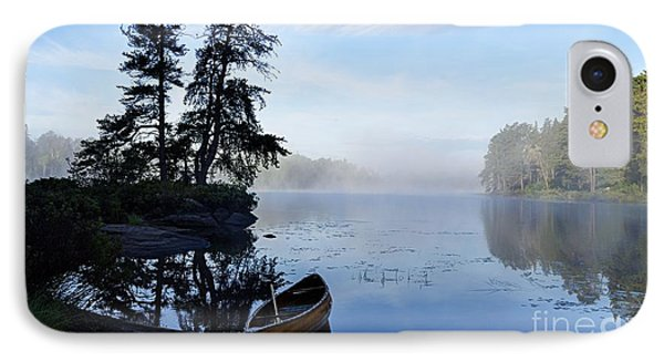 IPhone Case featuring the photograph Kawishiwi Morning by Larry Ricker