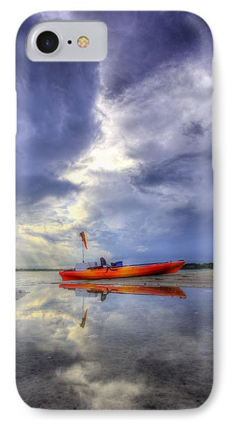Kayak Panama City Beach IPhone Case by JC Findley