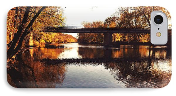 Kayaking The Driftwood River - Autumn Bliss IPhone Case