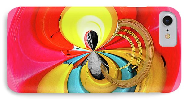 IPhone Case featuring the photograph Kayaks Orb by Bill Barber