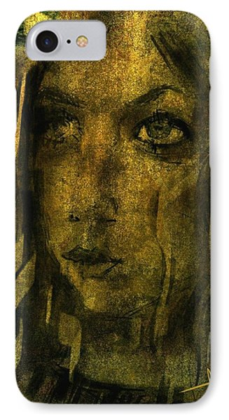 IPhone Case featuring the digital art Kayleigh by Jim Vance