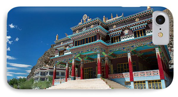 IPhone Case featuring the photograph Kaza Monastery by Yew Kwang