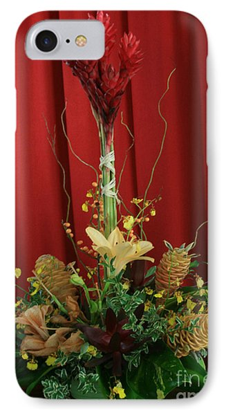 Keawalai Still Life Tropical Flowers IPhone Case by Sharon Mau