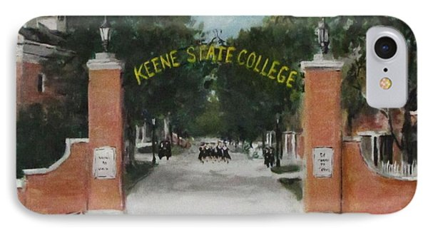 Keene State College IPhone Case