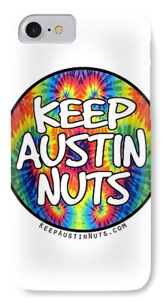 Keep Austin Nuts IPhone Case